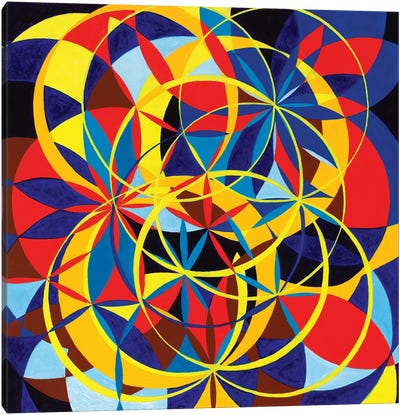 Wheel Within A Wheel XXXIII Canvas Art Print