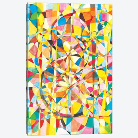 Wheel Within A Wheel XLIV Canvas Print #SZK11} by Lorien Suárez-Kanerva Canvas Wall Art