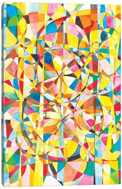Wheel Within A Wheel XLIV Canvas Art Print