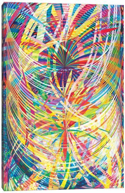 Wheel Within A Wheel L Canvas Art Print