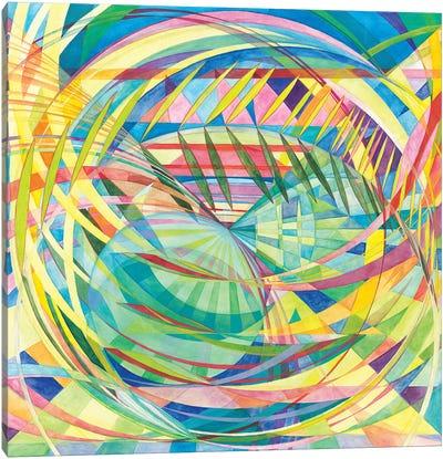 Wheel Within A Wheel LI Canvas Art Print