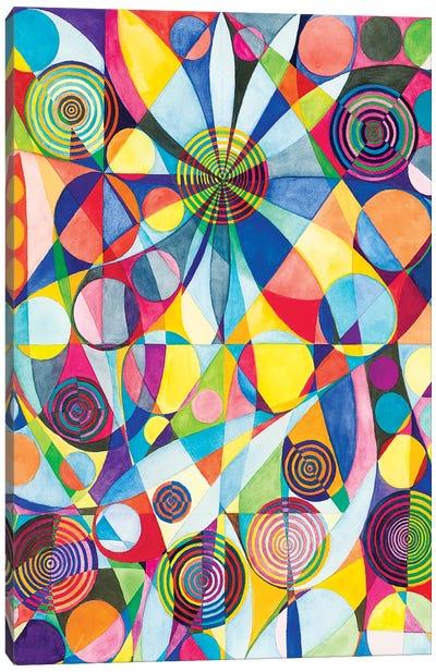 Wheel Within A Wheel LXV Canvas Art Print