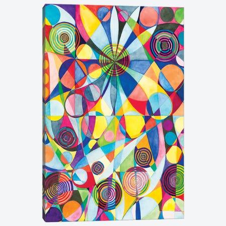 Wheel Within A Wheel LXV Canvas Print #SZK15} by Lorien Suárez-Kanerva Canvas Art Print