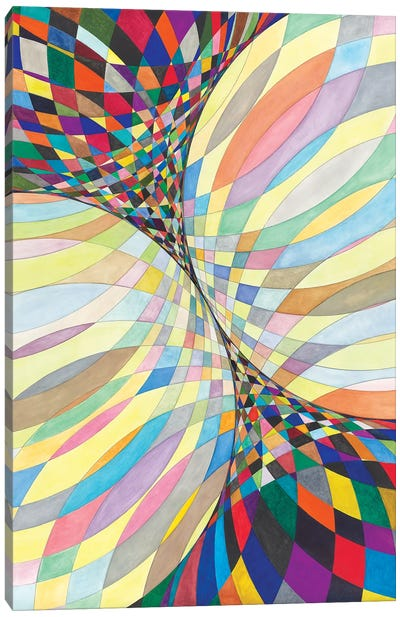 Wheel Within A Wheel LXXXI Canvas Art Print