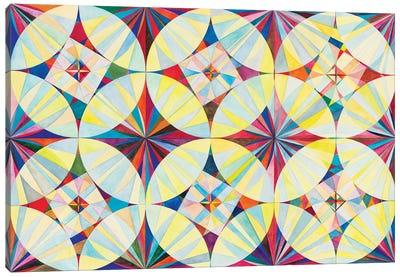 Wheel Within A Wheel CXII Canvas Art Print