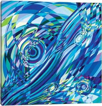 Elan Flow V Canvas Art Print