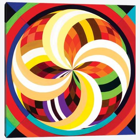 Wheel Within A Wheel CXIX Canvas Print #SZK20} by Lorien Suárez-Kanerva Art Print