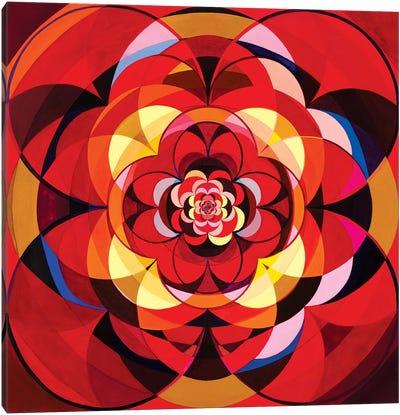 Wheel Within A Wheel CXVII Canvas Art Print