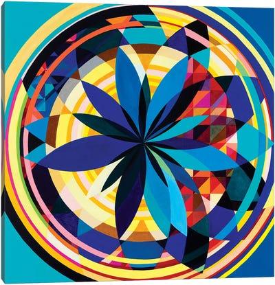 Wheel Within A Wheel CXVIII Canvas Art Print