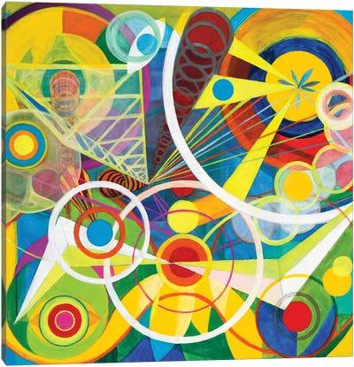 Wheel Within A Wheel I Canvas Art Print
