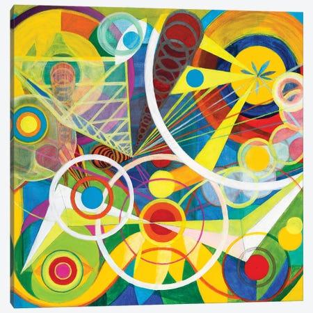 Wheel Within A Wheel I Canvas Print #SZK24} by Lorien Suárez-Kanerva Canvas Wall Art