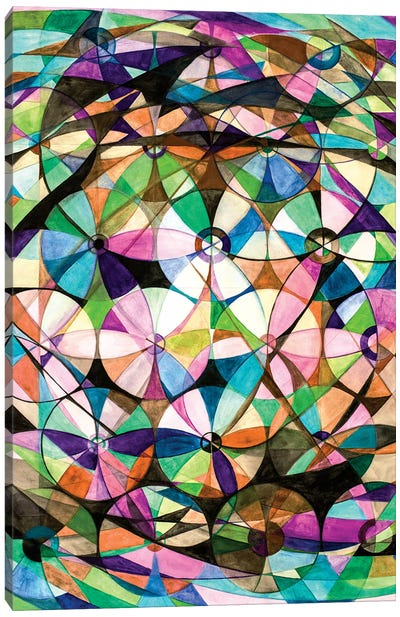 Wheel Within A Wheel XLI Canvas Art Print