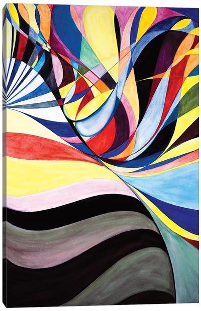 Wheel Within A Wheel CII Canvas Art Print