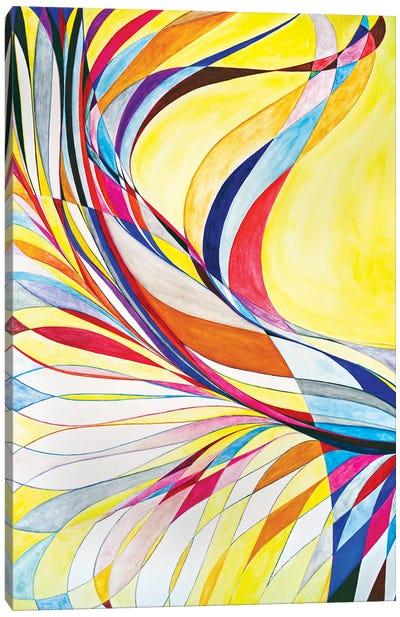Wheel Within A Wheel CIII Canvas Art Print