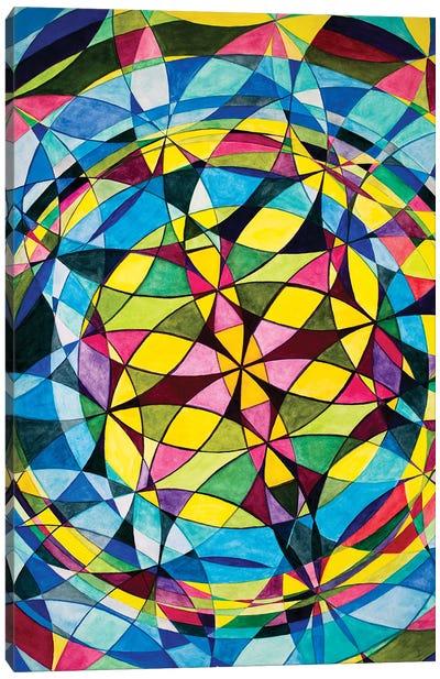 Wheel Within A Wheel LXXXIV Canvas Art Print