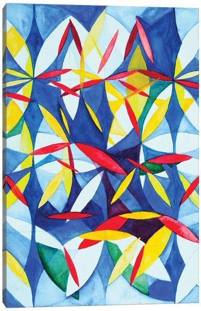 Wheel Within A Wheel XXXIV Canvas Art Print