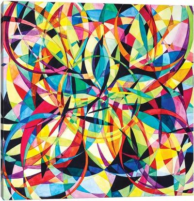 Wheel Within A Wheel XLVIII Canvas Art Print
