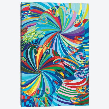 Elan Flow VII Canvas Print #SZK3} by Lorien Suárez-Kanerva Canvas Art Print