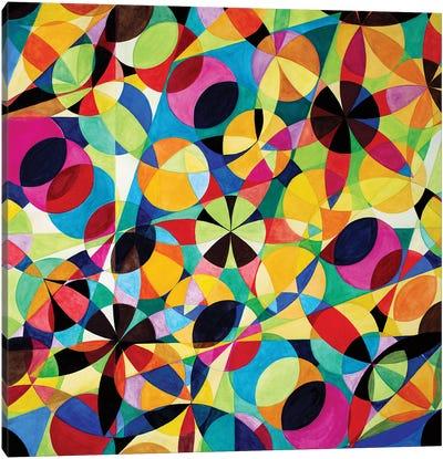 Wheel Within A Wheel XLV Canvas Art Print