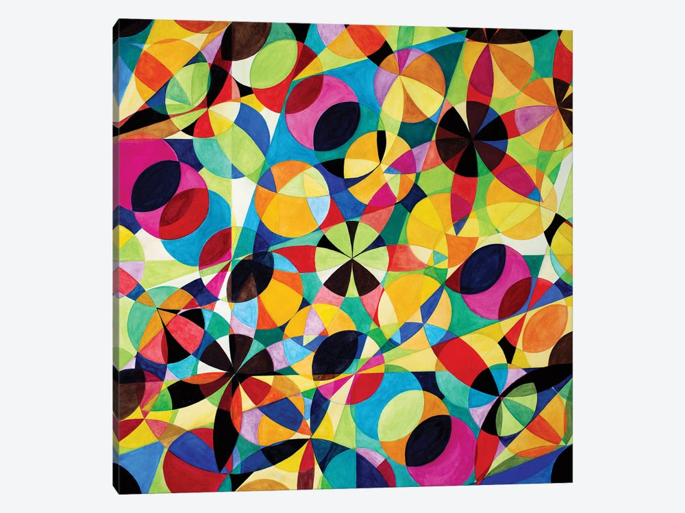 Wheel Within A Wheel XLV by Lorien Suárez-Kanerva 1-piece Canvas Wall Art