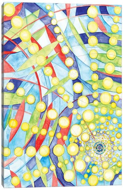 Wheel Within A Wheel IX Canvas Art Print