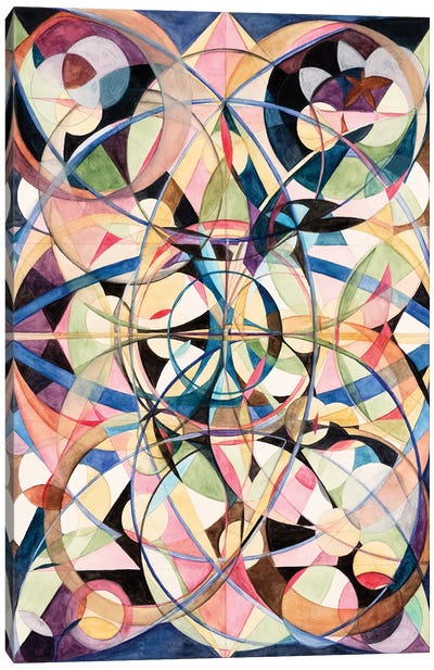 Wheel Within A Wheel IV Canvas Art Print