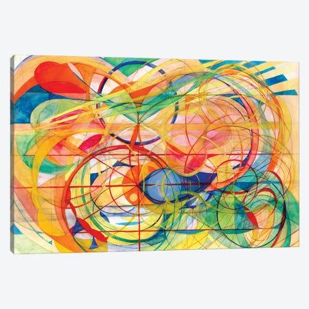 Wheel Within A Wheel I Canvas Print #SZK46} by Lorien Suárez-Kanerva Canvas Wall Art