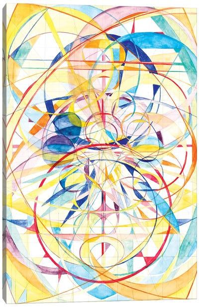 Wheel Within A Wheel II Canvas Art Print