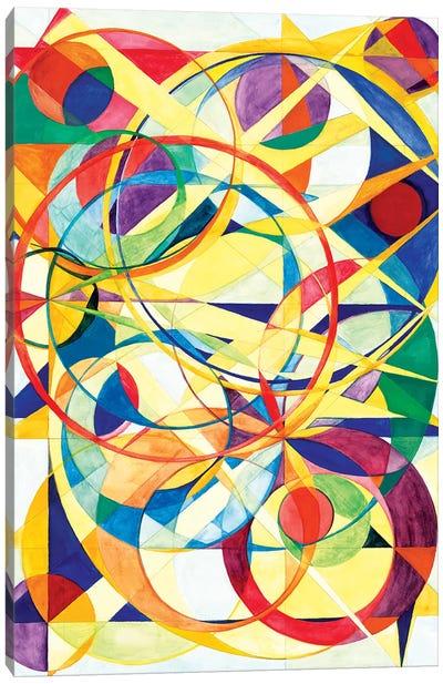 Wheel Within A Wheel III Canvas Art Print