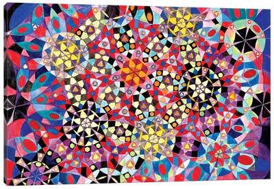 Wheel Within A Wheel XVI Canvas Art Print