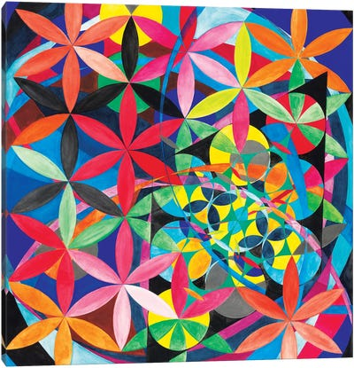 Wheel Within A Wheel XVIII Canvas Art Print