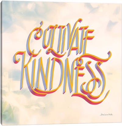 Cultivate Kindness Canvas Art Print