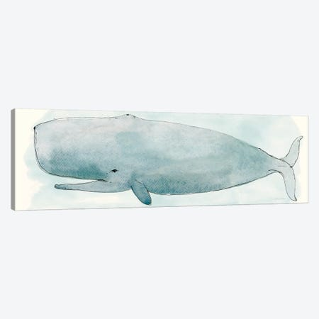 Sea Life V Canvas Print #SZM1} by Sara Zieve Miller Canvas Print