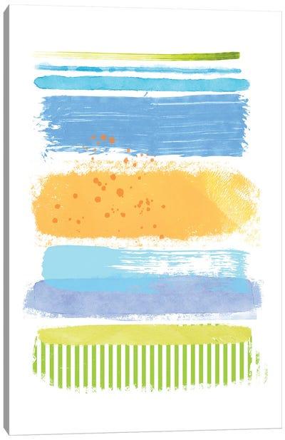 Beach Stripes I Canvas Art Print