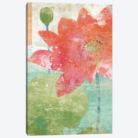 Lotus I Canvas Print #SZN5} by Suzanne Nicoll Canvas Print