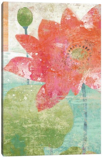 Lotus I Canvas Art Print