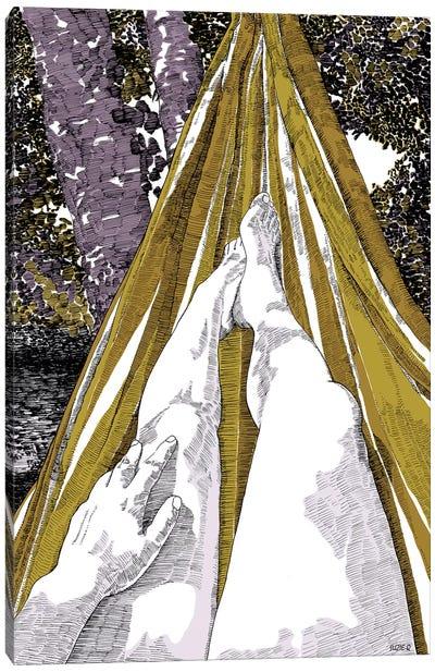 Hammock Canvas Art Print