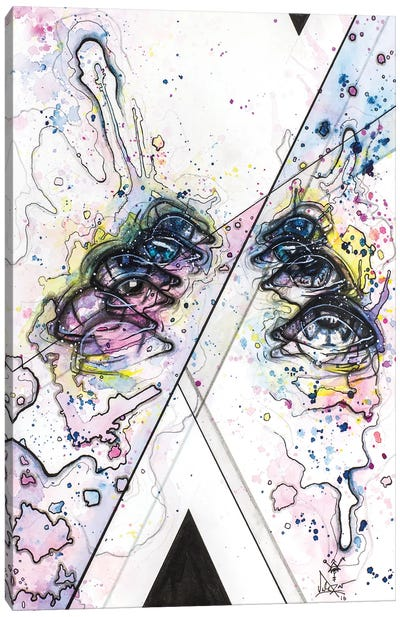 Distractions Canvas Art Print