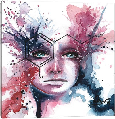 Dopamine Canvas Art Print