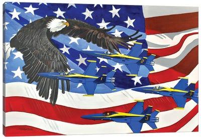 Patriot Canvas Art Print