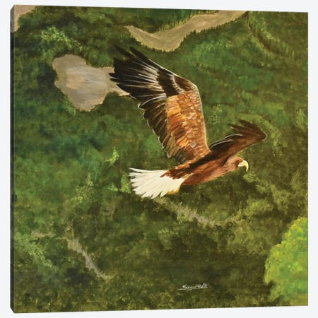 Flying High Canvas Print #SZS11} by SueZan Stutts Canvas Artwork