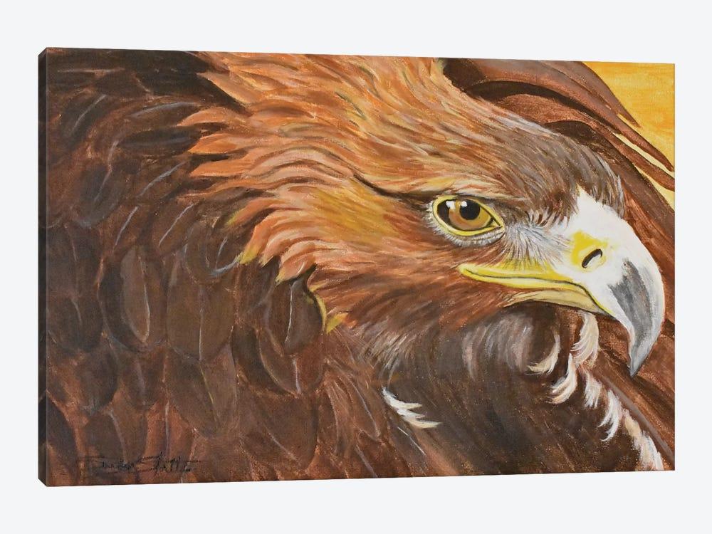 Golden Eagle I by SueZan Stutts 1-piece Art Print