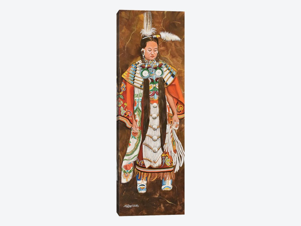 1st Northern Pow-Wow by SueZan Stutts 1-piece Canvas Artwork