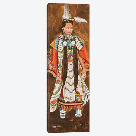 1st Northern Pow-Wow Canvas Print #SZS1} by SueZan Stutts Canvas Wall Art