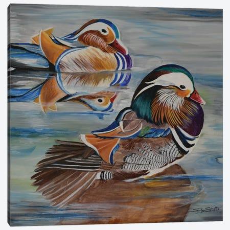 Mandarin Canvas Print #SZS21} by SueZan Stutts Canvas Art Print