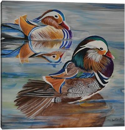 Mandarin Canvas Art Print