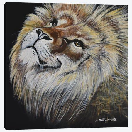 My Adorable Look Canvas Print #SZS25} by SueZan Stutts Canvas Artwork