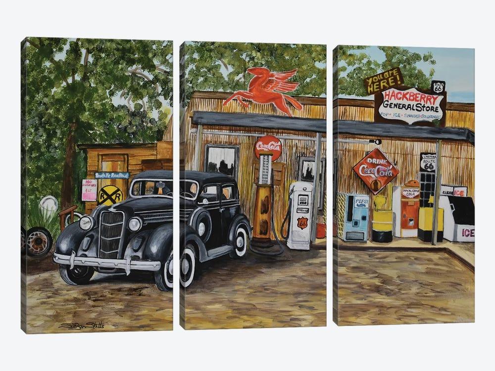 Nostalgia by SueZan Stutts 3-piece Canvas Print
