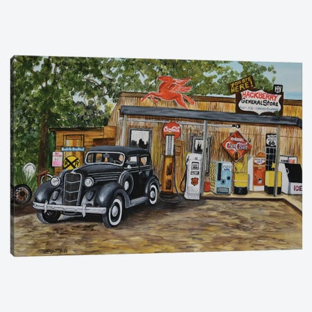 Nostalgia Canvas Print #SZS27} by SueZan Stutts Canvas Wall Art