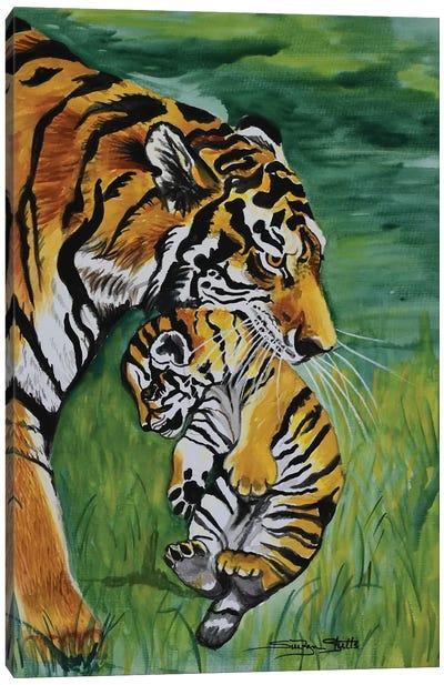 Parental Control Canvas Art Print